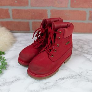Lugz Red Boots Kids 13